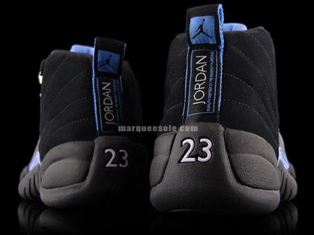 eab46c99d635a4 Air Jordan 12 Retro Nubuck Black University Blue