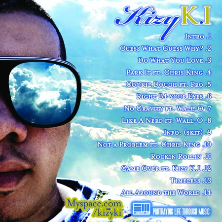 Looking Down On The Sky (CD Track List)